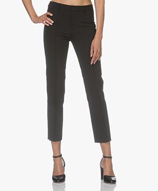 Filippa K Long Cigarette Pants - Black