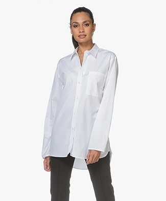Filippa K Poplin Blouse - Wit