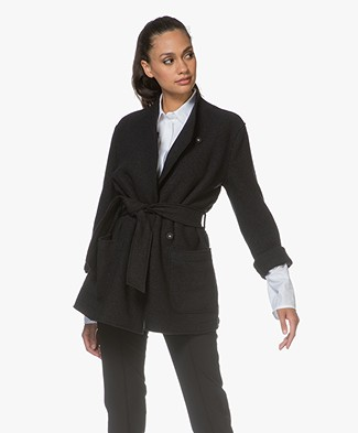 Filippa K Leia Belt Jacket - Black