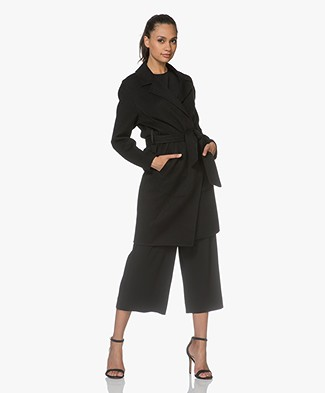 Rag & Bone Sven Wool Blend Coat - Black