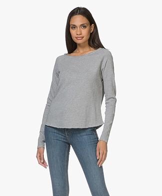 American Vintage Sweater Sonoma - Grey Melange