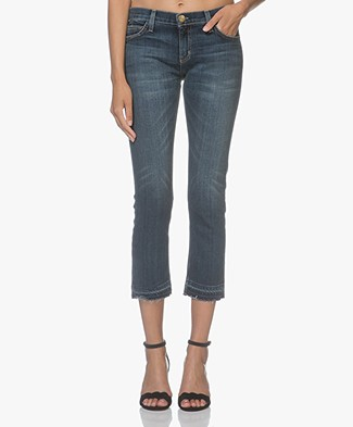 Current/Elliott The Cropped Straight Jeans - Loved Let Out Hem