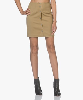 Filippa K Twill Skirt - Kelp