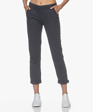Petit Bateau Murph Cotton Sweatpants - Smoking