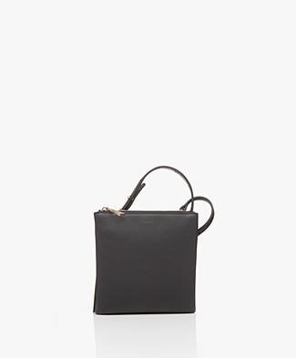 Filippa K Marly Utility Leather Bag - Zwart