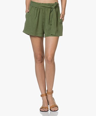 American Vintage Lyocell Nalastate Shorts - Petit Pois