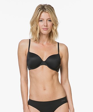 Calvin Klein Perfectly Fit T-shirt Bra - Black