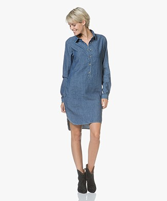 Closed Denim Chambray Blousejurk - Stone Washed
