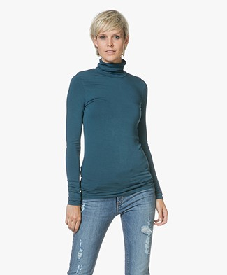 Majestic Amy Jersey Coltrui - Atlantic Blauw