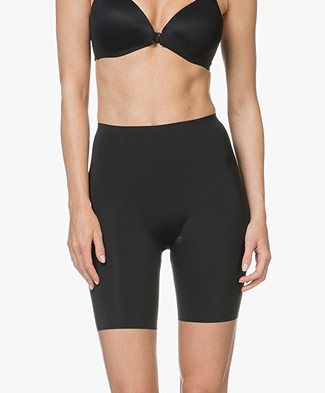 SPANX® Thinstincts Mid-Thigh Shorts - Black