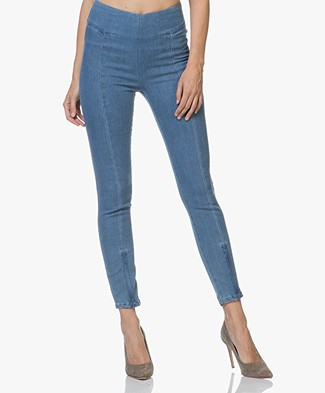 By Malene Birger Adelio Slim-fit Pants - Skyline