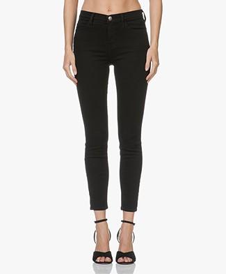 Current/Elliott Stiletto High Waist Skinny Jeans - Jet Black