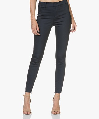 Drykorn Winch Stretchy Slim-Fit Trousers - Dark Blue