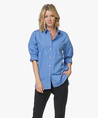 Filippa K Poplin Shirt - Capri