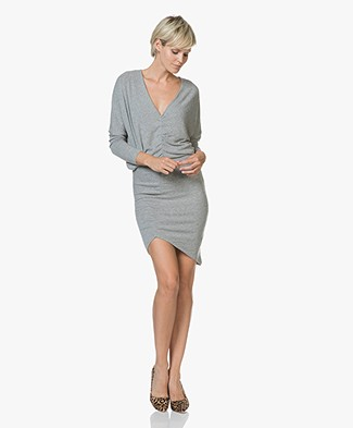 IRO Bananas Fine Knitted Dress - Mixed Grey