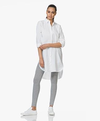 SLUIZ. Ibiza Cotton Shirt Dress - White