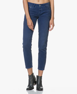 Closed Baker Cropped Ribbed Pants - Japanese Blue