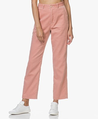 Closed Milla Corduroy Pants - Rose Orange