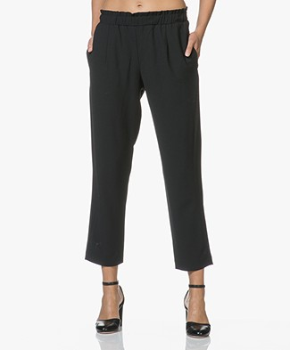 Pomandère Cropped Pants - Black