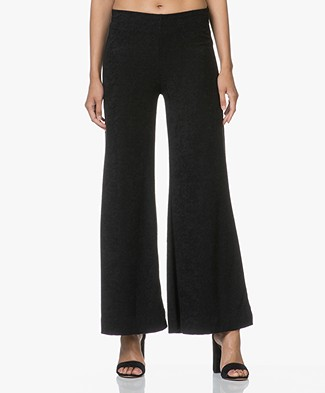 Ragdoll LA Terry Flare Pants - Black