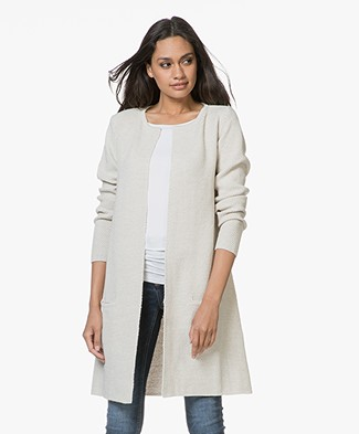 Sibin/Linnebjerg Mary Merino Blend Open Cardigan - Kit