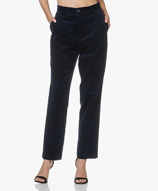 Closed Milla Corduroy Pants - Japanese Blue