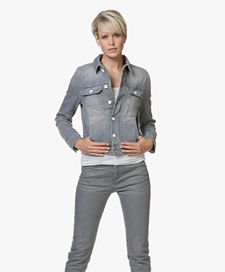Zadig & Voltaire Kioky Denim Jacket - Grey