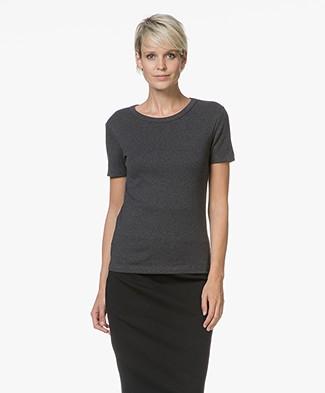 Petit Bateau Basic T-shirt in Cotton - City Melange