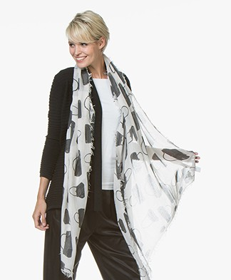 Belluna Plus Modal Scarf with Print - Corda