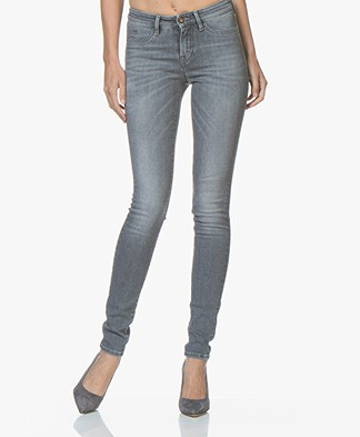 Denham Spray Super Tight Fit Jeans - Grey