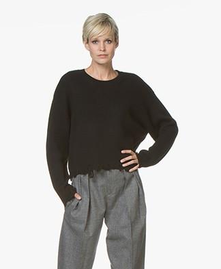 IRO Webro Wool Sweater - Black