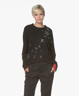 Zadig & Voltaire Cici Gaby Bis Pullover - Black
