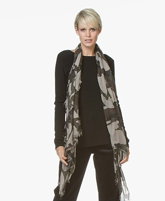 Belluna Dan Camouflageprint Sjaal - Nuzio