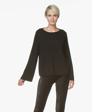 Drykorn Laureen Pure Wool Sweater - Black