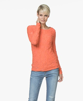 Josephine & Co Jella Ausbrenner Jersey Long Sleeve - Coral