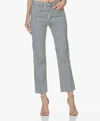 Rag & Bone Vintage Straight Jeans - Indigo Stripe