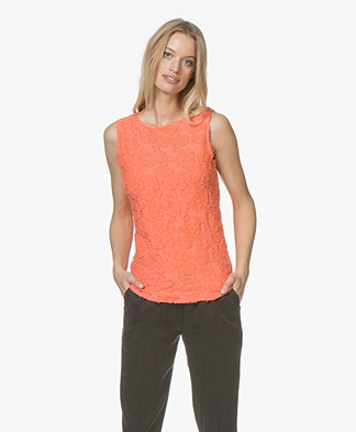 Josephine & Co Janna Ausbrenner Jersey Top - Coral