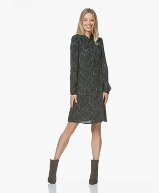 Marie Sixtine Ianis Printed Dress - Lines D