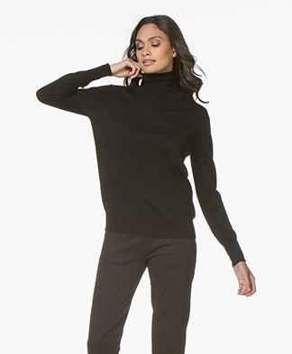 Filippa K Merino Roller Neck Sweater - Black