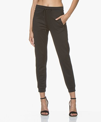 Filippa K Soft Sport Shiny Track Pants - Black