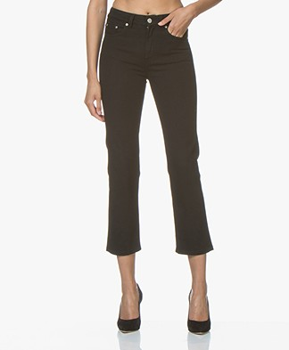 Filippa K Stella Cropped Coloured Denim Jeans - Black