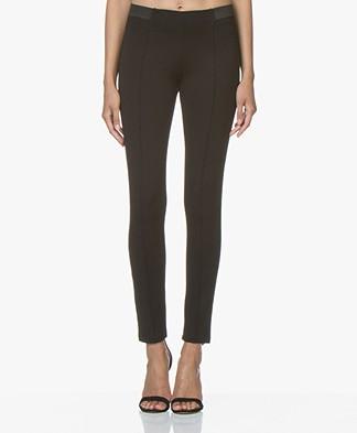 LaSalle Ponte di Roma Slim-fit Pants - Black