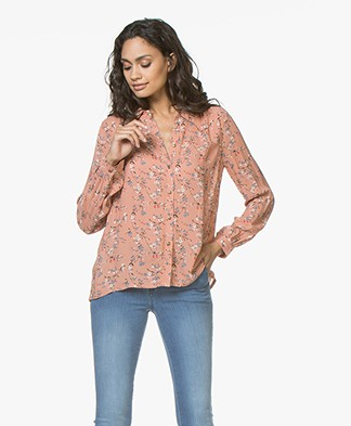 indi & cold Floral Blouse - Peonia