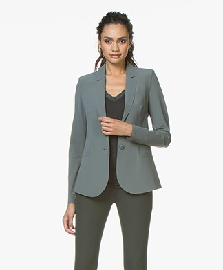 JapanTKY Naddo Tailored Blazer - Army Green