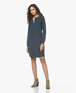 BY-BAR Feline Tencel Dress - Oil Blue