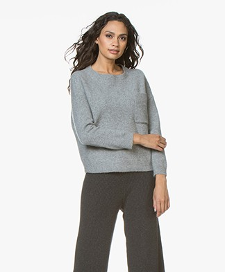 Drykorn Nola Cashmere Blend Sweater - Grey