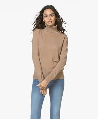 Filippa K Cashmere Roller Neck Sweater - Camel