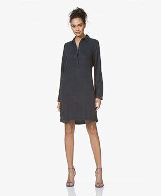 BY-BAR Bas Tencel Tunic Dress - Dark Navy