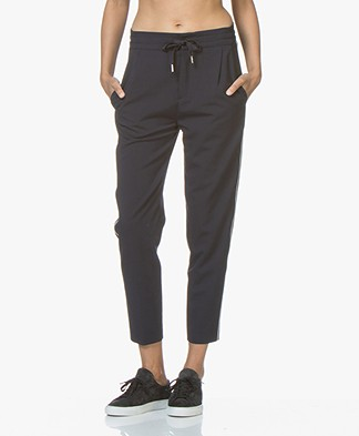 Drykorn Level Loose-fit Pants - Dark Blue
