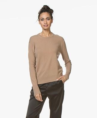 Filippa K Cashmere R-neck Sweater - Camel